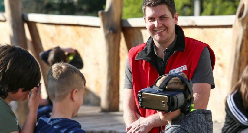 Virtual Reality von Solvis bei den Jungheizern