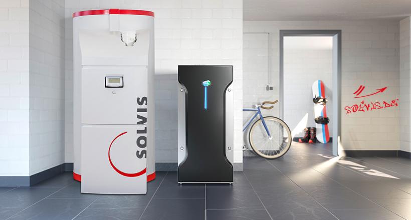 Brennstoffzellenlösung: SolvisMax 7 und Bluegen BG-15