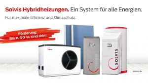 Die klimafreundlichen SOLVIS Hybrid-Heizsysteme